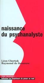 Naissance Du Psychanalyste - Intérieur - Format classique