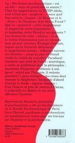 Naissance Du Psychanalyste - 4ème de couverture - Format classique