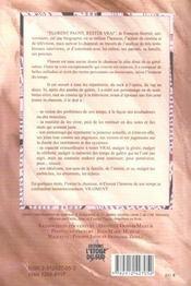Florent Pagny. Rester Vrai - 4ème de couverture - Format classique