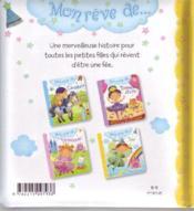 MON REVE DE... ; fée - 4ème de couverture - Format classique