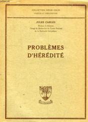 Problemes D'Heredite - Couverture - Format classique