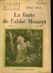 La Faute A L'Abbe Mouret. Tome 3. Collection : Select Collection N° 315 - Couverture - Format classique