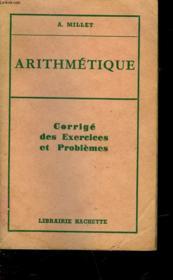 Arithmetique - Couverture - Format classique