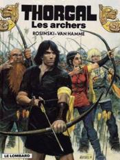 Thorgal T.9 ; les archers - Couverture - Format classique