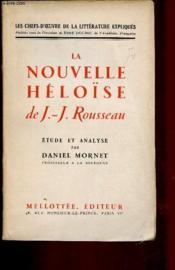 La nouvelle Héloïse - Couverture - Format classique