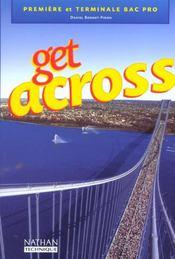 Get across bac pro eleve 2002 - Intérieur - Format classique