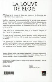 La louve de Blois - 4ème de couverture - Format classique