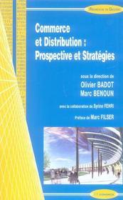 Commerce Et Distribution ; Prospective Et Strategie - Intérieur - Format classique
