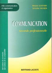 Communication 2de Professionnelle - Intérieur - Format classique