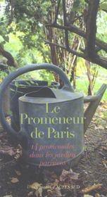 Le promeneur de Paris - Intérieur - Format classique