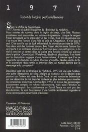 1977 - 4ème de couverture - Format classique