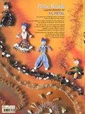 Perles De Rocaille Sur Fil Metal - 4ème de couverture - Format classique