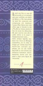 Ys La Cite Perdue - 4ème de couverture - Format classique
