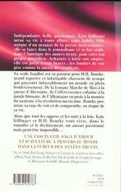 Les grands romans exotiques ; kate la femme pressee - 4ème de couverture - Format classique