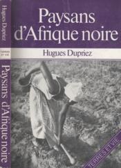 Paysans D'Afrique Noire - Couverture - Format classique