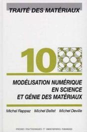 Modelisation Num.Science - Couverture - Format classique