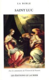L'evangile selon saint luc - Couverture - Format classique