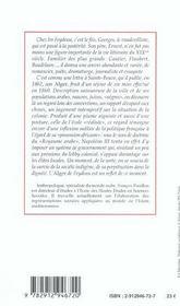Alger étude - 4ème de couverture - Format classique