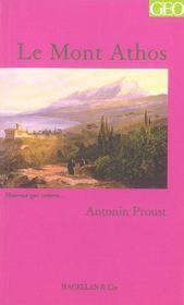 Le Mont Athos - Intérieur - Format classique