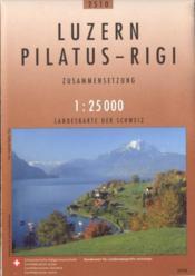 Luzern Pilatus-Rigi - Couverture - Format classique