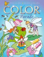 Les Fees Et Les Elfes Color Parade X12 - Couverture - Format classique