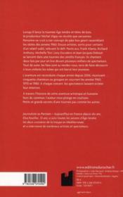 Âge tendre dans les coulisses - 4ème de couverture - Format classique