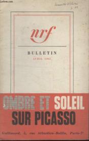Bulletin Avril 1961 N°159. - Couverture - Format classique