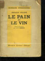 Le Pain Et Le Vin. - Couverture - Format classique