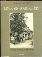 Limousin d'autrefois - Couverture - Format classique