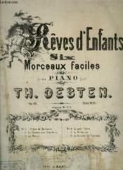 Reves D'Enfants Pour Piano : La Course En Traineau. - Couverture - Format classique