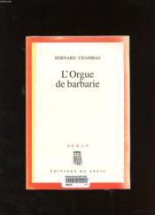 L'Orgue De Barbarie - Couverture - Format classique