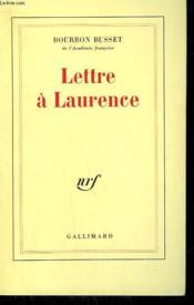Lettre a laurence - Couverture - Format classique