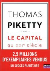 Le capital au XXIe siècle - Couverture - Format classique