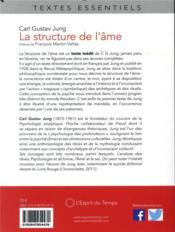 La structure de l'âme (2e édition) - 4ème de couverture - Format classique