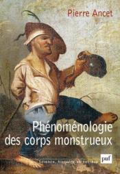 Phénomènologie des corps monstrueux - Couverture - Format classique