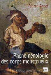 Phénomènologie des corps monstrueux - Intérieur - Format classique
