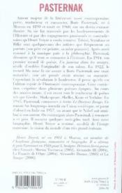 Boris Pasternak - Couverture - Format classique