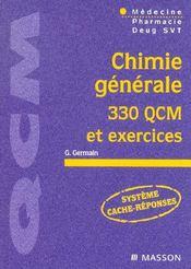 Chimie generae 300 qcm et exercices - pod - Intérieur - Format classique