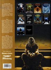 Travis T.8 ; l'or bleu - 4ème de couverture - Format classique