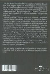 1933-1945, le cinéma français - 4ème de couverture - Format classique