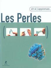 Et Si J'Apprenais T.16 ; Les Perles - Intérieur - Format classique