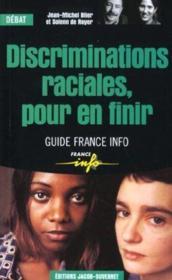 Discriminations raciales pour - Couverture - Format classique