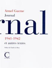 Journal 1941-1942 - Couverture - Format classique