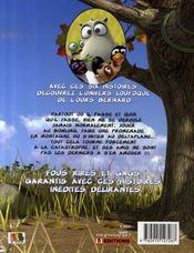 Les incroyables aventures de bernard - 4ème de couverture - Format classique