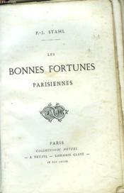 Les Bonnes Fortunes Parisiennes - Couverture - Format classique