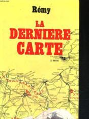 La Derniere Carte - Couverture - Format classique