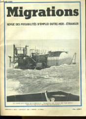 Migrations N°66-67 - Revue Des Possibilites D'Emploi Outre-Mer - Etranger - Couverture - Format classique