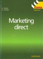 Marketing Direct - Intérieur - Format classique