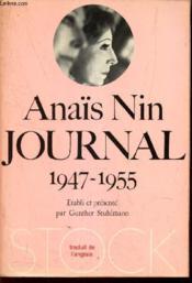 JOURNAL 1947-1955 (5eme VOLUME) - Couverture - Format classique