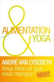 Alimentation et yoga - Couverture - Format classique